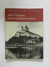 Melk Dürnstein Göttweig Klosterneuburg Emmerich Schaffran G Kerff Stifte Stift
