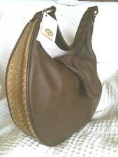 Designer Viva Espiga Hobo Leather NWT