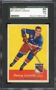 1957 Topps #061 Danny Lewicki SGC 86 NM+