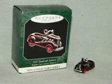 1937 Steelcraft Auburn 1998 Kiddie Car Luxury MIB Hallmark Miniature Ornament