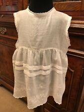 White Cotton Vintage Antique Baby Petticoat - Handmade