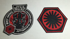 STAR WARS THE FORCE AWAKENS FIRST ORDER FLIGHT PATCH SET 2