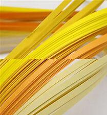 120 strisce quilling basse 3 mm tonalità giallo 2