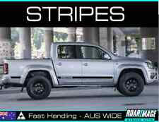 2011-2020 VW Volkswagen AMAROK side door stripes decals stickers not bonnet