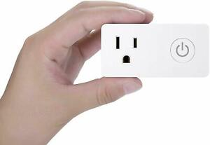 BN-LINK Wi-Fi Smart Plug Outlet Works with Alexa and Google Assistant
