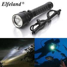 15000LM Elfeland 3x T6 LED Diving Flashlight Scuba 18650 Torch Underwater 100m