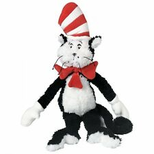 Manhattan Toy Cat in the Hat Dr. Seuss Black White Red Stuffed Plush 3yrs+ NEW