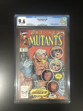 The New Mutants #87 CGC 9.6 1st Appearance of CABLE- McFarlane Liefeld