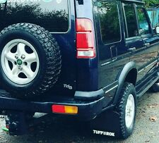 Genuine Tuff-rok LandRover Discovery 2 full Mud Flap set (x 4)  gloss black 2003
