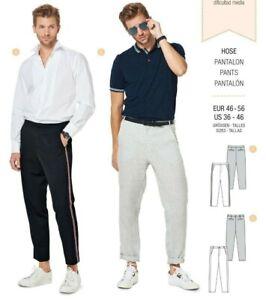 Las Mejores Ofertas En Patrones De Costura Para Hombres De Coleccion Burda Ebay