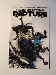 Rapture #2 Clayton Crain 1:20 Variant (2017 Valiant) Ninjak Shadowman   NM