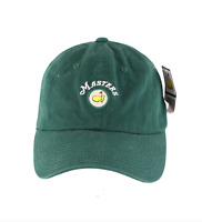 New American Needle Augusta National The Masters Spell Out Golf Hat Cap Green
