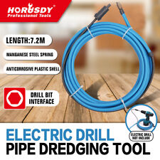 24 Ft Drain Auger Cable Replacement Plumbing Snake Sink Clog Sewer Pipe Cleaner