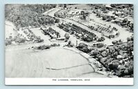 Vermillion, OH - EARLY AERIAL BIRDS EYE VIEW OF THE LAGOONS - POSTCARD