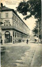 uralte AK, Mülhausen (O.-E.) Handelsstraße, Feldpost