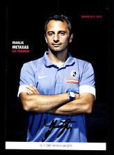 Iraklis Metaxas Autogrammkarte SC Freiburg 2013-14 Original Signiert+A 160106