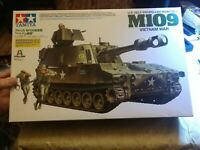 TAMIYA 1/35 US M109 Self-Propelled Howitzer Vietnam War Model - NEW *US SELLER