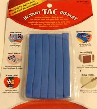 Instant Tac Reuseable Adhesive Sticky Tac New For Home Office School Crafts Blue