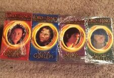 HUGE Set/Lot Of 20!!! NEW Lord Of The Rings Glass Goblets W/ Light Up Bases NIB