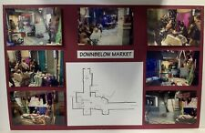 Babylon 5 Downbelow Market Set Design Storyboard Used In Production