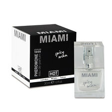 Profumo Maschile ai Feromoni Miami Man Hot 30 ml sexy shop afrodisiaco uomo