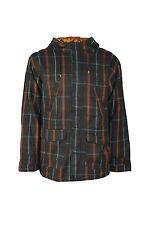 Nouveau Matix Hommes Veste D'Hiver Veste Manteau Wool Jacket Taille S Carreaux Capuche Transition