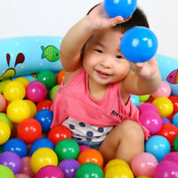 50PCS Ocean Ball Secure Plastic Colorful Balls Kid Baby Pit Swim Pool Toy Gifts