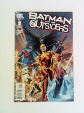 Batman and The Outsiders v2 #1 DC 2007 VF Catwoman Metamorpho Martian Manhunter