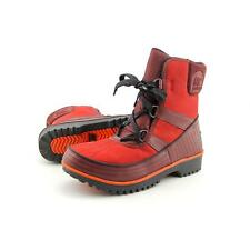 Sorel Tivoli II Women US 10 Red Snow Boot Pre Owned  1163