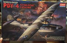 Academy 1/72 PBY-4 Flying Boat Catalina 2136 Parts are sealed!
