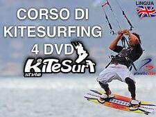 Corso di Kitesurfing (4DVD) Surf - Impara Le Tecniche Dei Pro