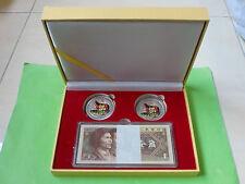 China 1 Jiao 4th series (1980) 100pcs w presentation box & certificate 马到成功, #10