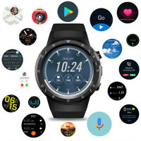 Zeblaze THOR 4 Plus 4G Smartwatch Phone 1+16GB Android7.1 AMOLED Watch N0A4 Lot
