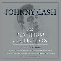 JOHNNY CASH - PLATINUM COLLECTION (WEISSES VINYL)  3 VINYL LP NEU