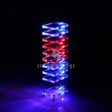 New DIY Dream Electronic Column Light Cube LED Music Voice Spectrum Kit