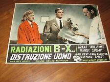 FOTOBUSTA,Radiazioni BX: distruzione uomo, Incredible Shrinking Man,Jack Arnold