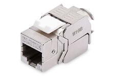 DIGITUS® DN-93615 Keystone Modul 500Mhz  CAT6eA werkzeuglose Montage 10erPack !