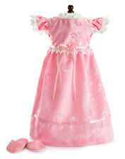 Carpatina Sweet Dreams Pink Nightgown Fits 18 inch American Girl Dolls