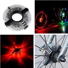 Waterproof Cycling Light Road Bike Bicycle Front + Rear Spoke Wheel Decorat Lamp