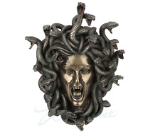 Head Of Medusa Wall Plaque Statue Sculpture Figurine - WALL DECOR!