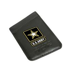 Army Card Keeper Leather Phone Wallet with RFID Protection