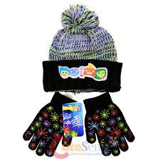 Disney Insideout Beanie Knitted Cuff Hat Gloves Set  Joy Sadness Anger