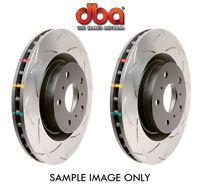 DBA T3 DISC BRAKE ROTOR 4000 Series Front Slotted Rotors for Honda Prelude VTEC