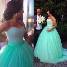 2015 Quinceanera dresses Formal Prom Party Ball Gown color Wedding Dress Custom