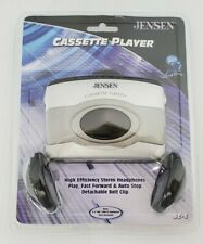 Jensen Cassette Player With Headphones - Sc-6 - Nib Sealed