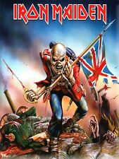 More details for iron maiden heavy metal rock metal wall decor sign plaque