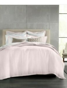 Hotel Collection Full Queen Linen Dusty Rose Duvet Cover