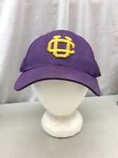 Trucker Hat Baseball Cap Vintage Fitted UC purple Gold 7 3/8 - 7 1/2 College