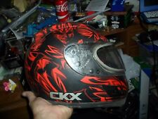 Motorcycle Helmet CKX Voovoo graphics by Dom  Full Face