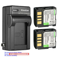 Kastar Battery Wall Charger for JVC BN-VF707 & JVC GZ-MG57EY GZ-MG57EZ GZ-MG57U